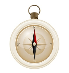 A compass vector image