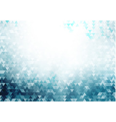 abstract blue geometric hipster triangles pattern vector image