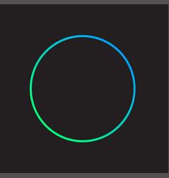 Circle icon design vector