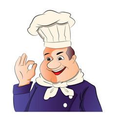 Master chef vector