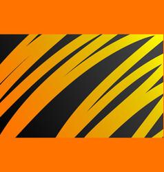 Orange background curve lines vector