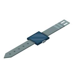 smart watch icon isometric style vector image