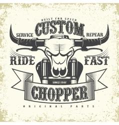 Tee shirt print design vector image