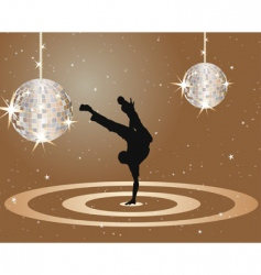 dancer vector image