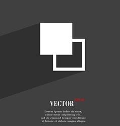 Active color toolbar icon symbol flat modern web vector