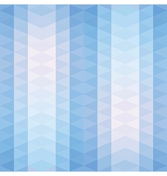 Blue triangles striped pattern vector