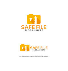 Book guard logo designs document shield logo vector