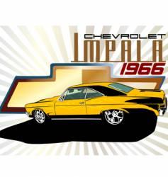 Chevrolet impala vector
