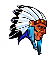 indigenous people vector image
