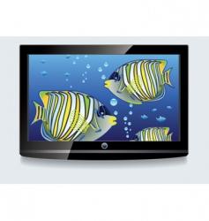 LCD screen vector