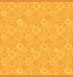 Orange geometrical diagonal tile mosaic pattern vector