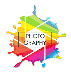 photostudio symbol for business vector image