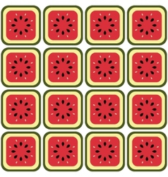 Seamless melon pattern vector