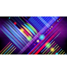 Abstract technology-style background with light vector image vector image