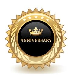 Anniversary Badge vector image vector image