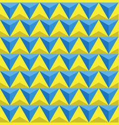 seamless triangles background vector image