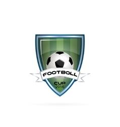 logo for a football team or a league vector image vector image