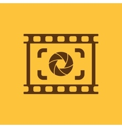 The viewfinder icon Focusing and photography vector image