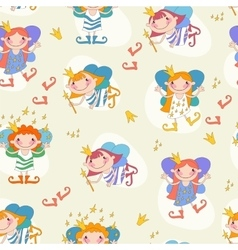 Cartoon girls fairies vector