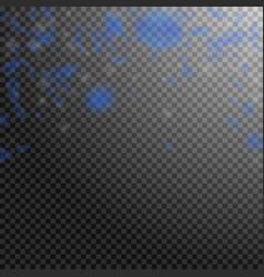 Dark blue flower petals falling down immaculate r vector