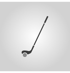 Golf icon Game symbol Flat vector image