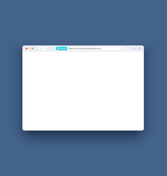 secure web browser template internet seas vector image