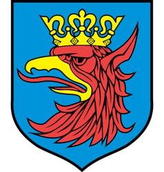 Szczecin coat-of-arms vector
