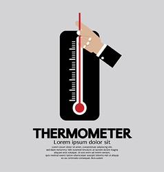 Thermometer For Weather vector