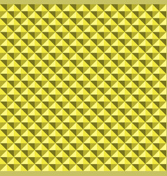 yellow background abstract pyramidas texture vector image
