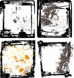 splash grunge design background vector image vector image