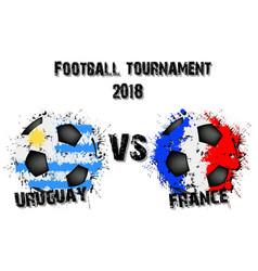 4347 - uruguay vs saudi arabia vector