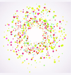 bright colorful holi paint splatter layout vector image