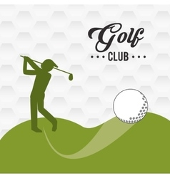 Golf icon design vector