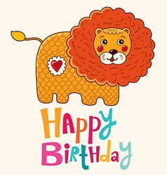 Happy birthday children design vector