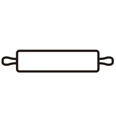 kitchen roller icon vector image