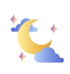 Moon gradient vector