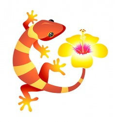 Spa gecko vector