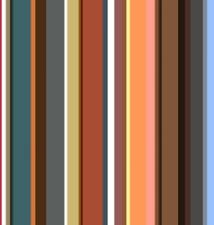Striped pattern in retro colors vector image