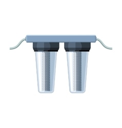 Water filters icon in cartoon style isolated on vector image