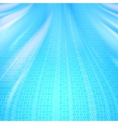 Abstract binary code background of Matrix style vector image