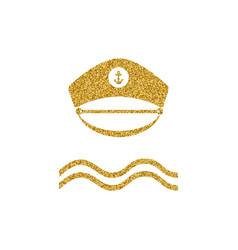 gold glitter design element vector image