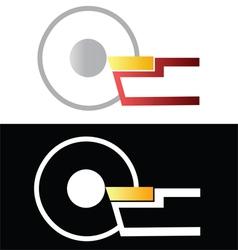 Metalworking symbol 1 vector image