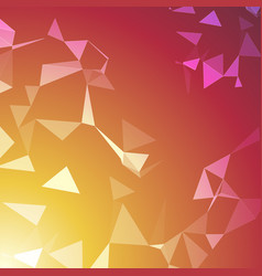 abstract geometric seamless color background vector image
