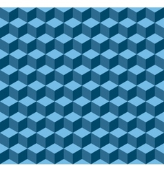 Blue geometric seamless background vector image
