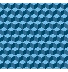 blue geometric seamless background vector image