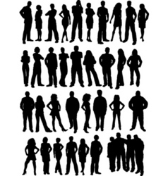 Casual people vector
