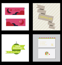 flyer for business and web information vector image