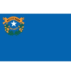 Nevada Flag vector image vector image