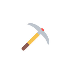 pick axe icon flat element of vector image