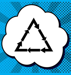 plastic recycling symbol pvc 3 plastic recycling vector image